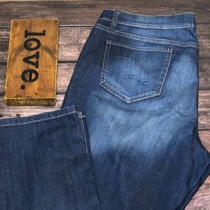 New York & Company Low Rise Skinny Leg Jeans